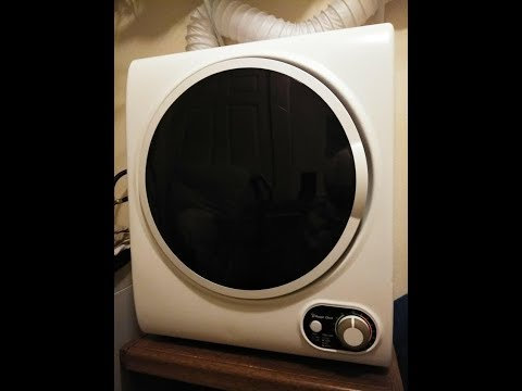Magic Chef Portable Dryer  MCSDRY15W  Review