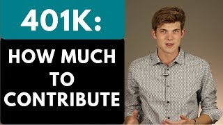 401K: How Much To Contribute? (For Beginners)
