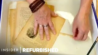 How 100-Year-Old Books Are Professionally Restored | Refurbished