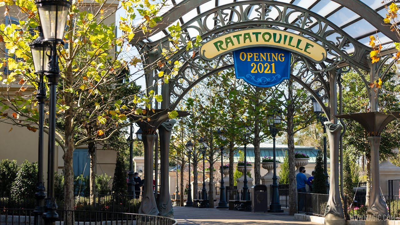 EPCOT France pavilion expansion walkway opens