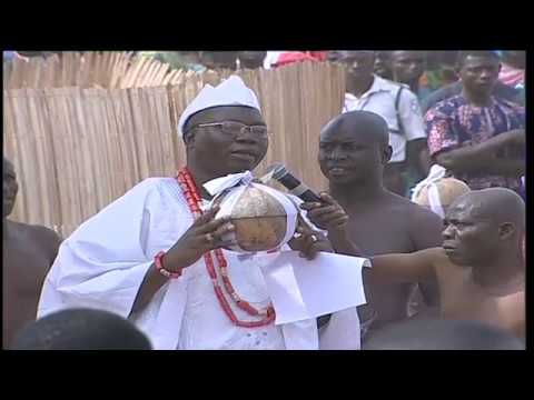 15th Aare Ona Kakanfo  Installation, The  Full event