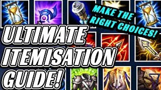 Ultimate Itemisation Guide (Climb Faster Using The Right Items!)