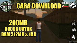CARA DOWNLOAD GTA SA LITE VERSI TERBARU |Cuma 200MB| - COCOK UNTUK RAM 512 MB !