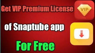 descargar snaptube vip premium para android
