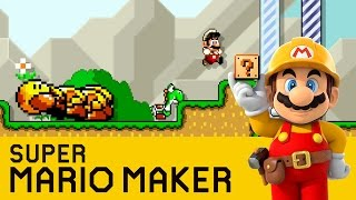 Super Mario Maker - In The Little Wood