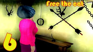 Scary Teacher 3D - Gameplay Walkthrough Part 6 - FREE THE CAT (Android, iOS)
