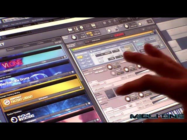 Plugins controls Micli One