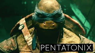 Pentatonix - We Are Ninjas (Official) | Teenage Mutant Ninja Turtles (2014 Movie)