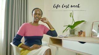 STRUGGLE INTERMITTENT FASTING & WHAT I WORE | LIFE LAST WEEK | Nelly Mwangi