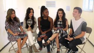 Fifth Harmony Unedited/Uncut Interview with Tyler Layne