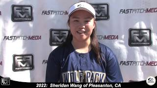 2022 Sheridan Wang Catcher and Third Base Softball Skills Video - Lady Wolfpack