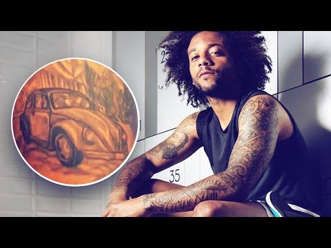 Marcelo's amazing tattoo paying homage to his grandfather | Oh My Goal