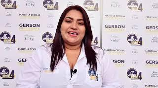 Johana Saltos, Candidata Asambleísta del Ecuador 2021.