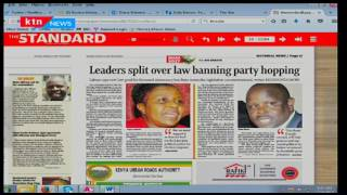 Leaders split over law banning party hopping