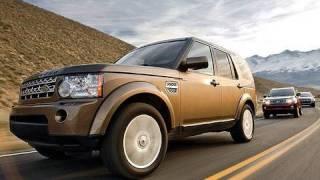 Comparison: Land Rover LR4 vs Lexus GX 460 vs Mercedes GL450