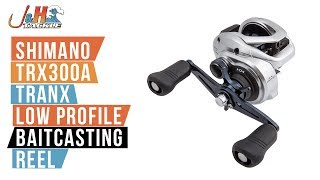 Shimano Tranx 300 TRX300A Low Profile Baitcasting Reel | J&H Tackle