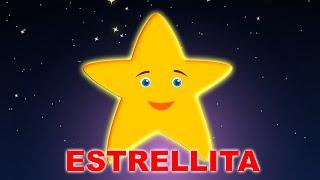 Estrellita Dónde Estás Con Letra    Brilla Estrellita   Twinkle Twinkle Little Star in Spanish