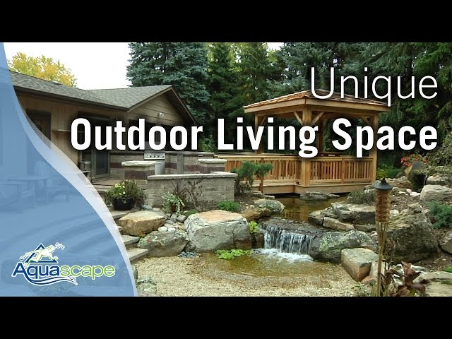 Aquascape - The Unique Outdoor Living Space of Designer Brian Helfrich