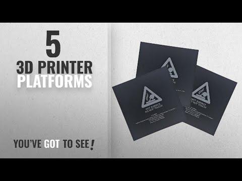 Top 10 3D Printer Platforms [2018]: Signstek 3PCS 3D Printer Bed Surface for 3D Printer Platform,