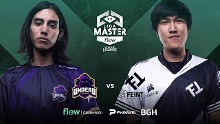 Undead Gaming VS Feint Gaming | Jornada 13 | Liga Master Flow
