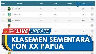 Klasemen Sementara PON XX Papua: Jawa Barat Ada di Posisi Puncak, Tuan Rumah Ada di Urutan Keempat
