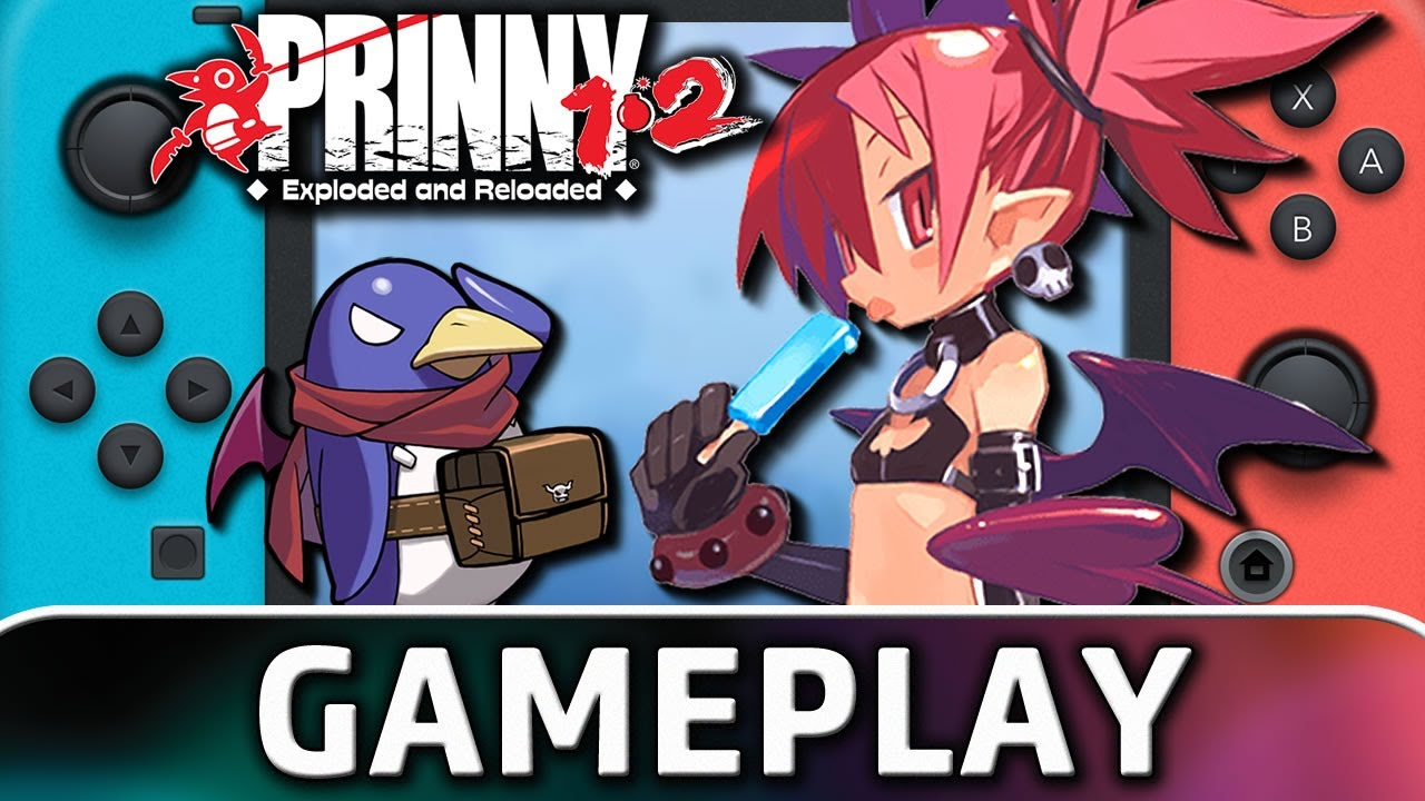 Prinny 1 & 2: Exploded and Reloaded | Nintendo Switch Gameplay