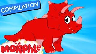 My Pet Dinosaur: Triceratops -  (+ Dinosaur compilation) My Magic Pet Morphle Episode #27 - dooclip.me