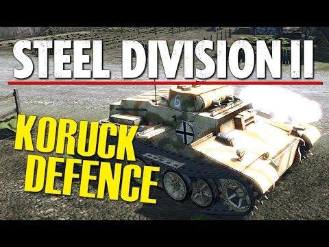 KORUCK DEFENCE! Steel Division 2 BETA Breakthrough Gameplay (Naratch Lake, 2v2)