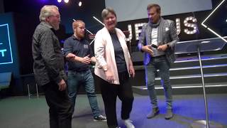 Multiple Sclerosis MS healed & walks out of wheelchair - John Mellor Miracles