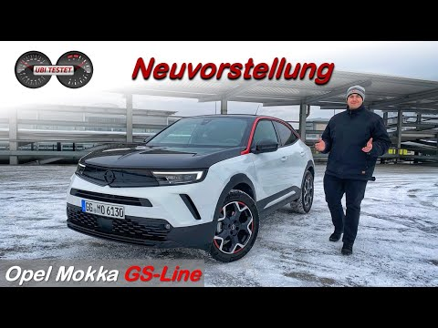 Opel Mokka 1.2 Turbo GS Line *2021* - Das neue Gesicht von Opel | Review - Fahrbericht - Test