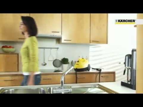 Limpieza del hogar con vapor Karcher por Generthec