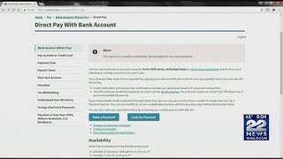 IRS online payment site down on tax day