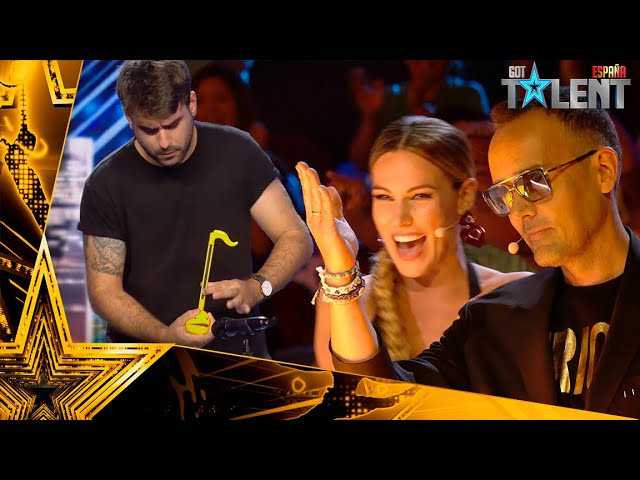 El OTAMATONE que ha conseguido el PASE DE ORO de Risto | Audiciones 1 | Got Talent España 2021