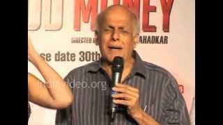 Mahesh Bhatt is Confident about Blood Money