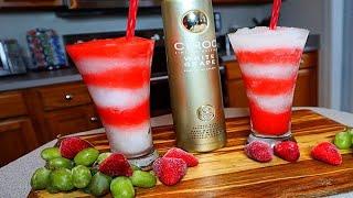 CIROC White Grape Berry Lemonade!!! (EASY Frozen Cocktail!)