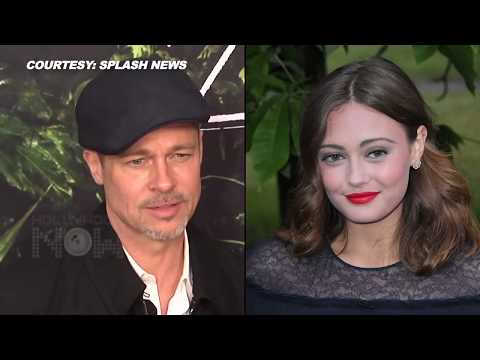 Brad Pitt Dating 21 Year Old Angelina Jolie Look-Alike Ella Purnell? FULL STORY