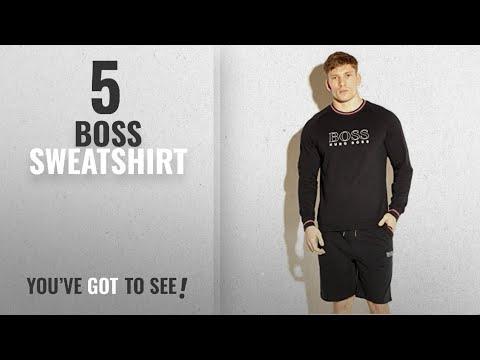 Top 10 Boss Sweatshirt [2018]: Hugo Boss Men's Authentic Sweatshirt