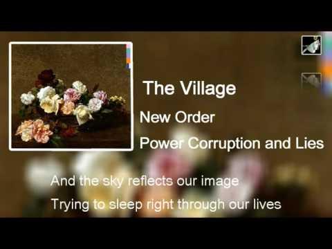 The Village with lyrics