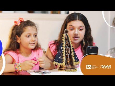 Gente que evangeliza desde pequeno - Maria Clara e Mariana Martini
