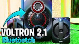 MediaTech VOLTRON 2.1 Mini WIEŻA za 180zł z dobrym BASEM! Test, Recenzja