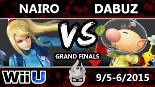 Paragon LA 2015 - Dabuz (Olimar) Vs. Nairo (Zero Suit Samus) - Grand Finals - Smash Wii U