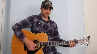 Tonight I Climbed The Wall - Alan Jackson - Guitar Lesson | Tutorial