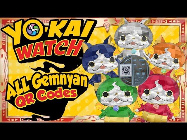 Yo Kai Watch Qr Code De Yo Kai Watch 3 Fr épisode 13 La Terr Heure