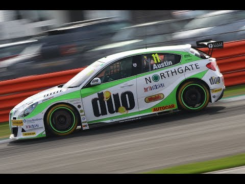 BTCC on board with Rob Austin - 15 overtakes, one race