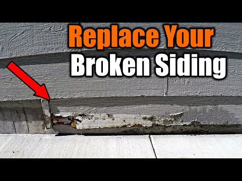 How To Replace Damaged Siding | THE HANDYMAN