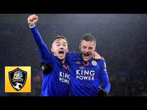 Leicester City solidify top-four credentials with win v. Arsenal | Premier League | NBC Sports