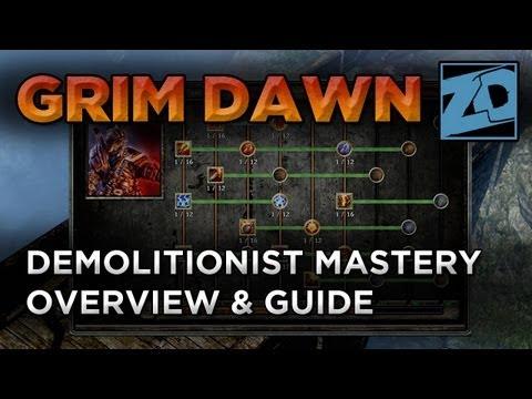 Dual Pistol Gunslinger Build Version 2 - Grim Dawn Demolitionist +