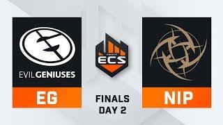 Evil Geniuses vs NiP - Map 1 - Train (ECS Season 8 Finals - DAY2)