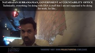 """Project Veritas has released the next in a series of undercover reports which unmask the Deep State. This report features a Government Accountability Office (GAO) employee and self-proclaimed Communist actively engaged in potentially illegal political activity. Natarajan Subramanian is a government auditor for the GAO and a member of the Metro DC Democratic Socialists of America (Metro DC DSA).  Metro DC DSA is a socialist group that works to advance progressive issues in the Metropolitan DC area. Subramanian's political activism may directly violate federal statutes as well as the """"Yellow Book"""" rules which apply specifically to government auditors.  Featured in this video are:  Richard Manning of https://www.firetheswamp.com Bill Marshall of https://www.judicialwatch.org  Newsletter: https://www.projectveritas.com/sign-u...  Website: http://projectveritas.com/  Facebook: https://www.facebook.com/ProjectVeritas  Twitter: https://twitter.com/Project_Veritas  Buy James O'Keefe's book: http://www.americanpravdabook.com"""