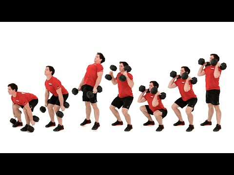 The Dumbbell Clean